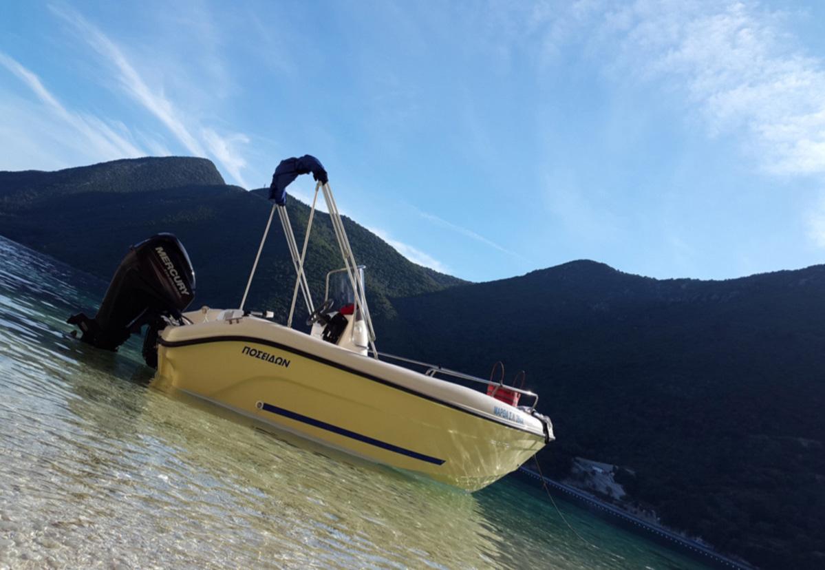 Dessimi Boats - Rent boat Lefkada